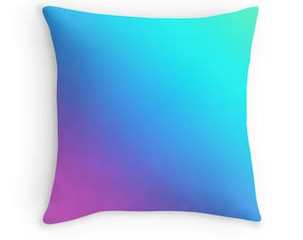 Rainbow Pillow, Rainbow Toss Pillow, Abstract Rainbow Bedding, Rainbow Throw Pillow, Rainbow Pillow, Colorful Rainbow Pillow