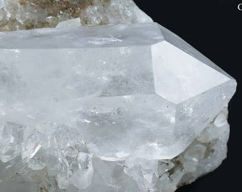 Natural Rare Swiss Quartz Mineral Specimen from the Alps!!