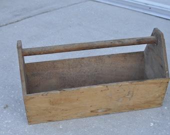 Older Wood Tool Box