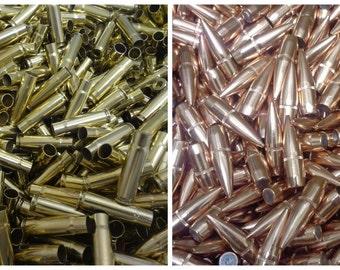 300 BLACKOUT Lake City Brass & HORNADY 150g .308 Reloaders 100 piece Combo