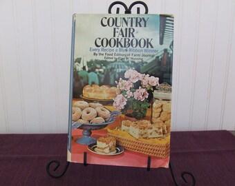 Country Fair Cookbook, Vintage Cookbook, 1975