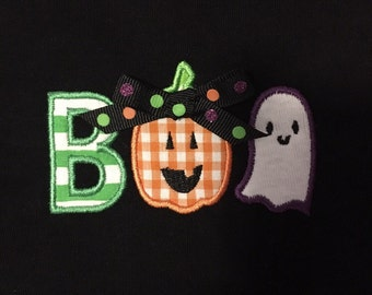 BOO Embroidery Shirt
