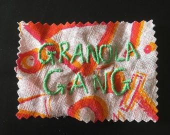 Granola Gang patch