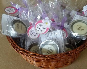 12 Pack Lotion Bars/Gift Set, Lotion Bars party favors, Birthday party favors, Bridal shower favors, Baby shower favors, set/12 party favors