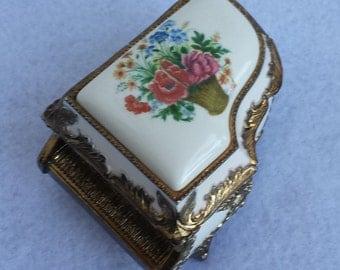 Sankyo Musical Piano Jewelry box Vintage Ealry/mid 20th century **Sale Price Cut**
