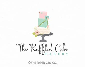 cake logo bakery logo baking logo bakers logo wedding cake logo baking blog logo sweet shop logo cake decorator logo bespoke cake logo
