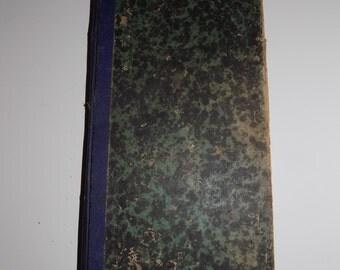 Antique 1874-1875 Ledger