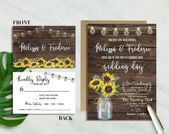 items similar to barn wedding invitations on etsy, Wedding invitations