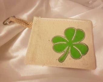 Key Pocket four-leaf clover