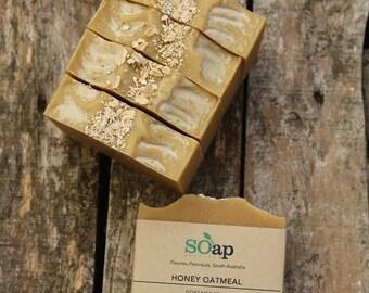 Oatmeal & Honey - Fresh Goat's Milk, Organic Oatmeal and Organic Honey - Natural - Mild - Palm Oil Free