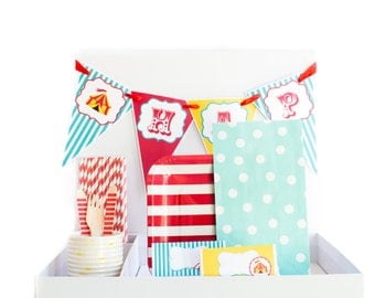 Circus Party Kit, Carnival Party Kit, Circus Birthday, Carnival Birthday, Circus Party, Carnival Party, Circus Decorations, Carnival Decor
