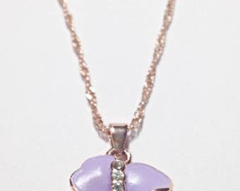 Lilac Flower Pendant