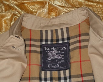 Genuine vintage Burberrys trench
