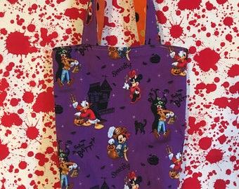 Disney Reversible Trick-or-Treat Bag 6x11