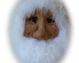 Santa Ornament EZ, A Lil Darlin Original