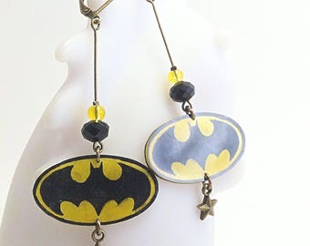 Earrings Super Hero