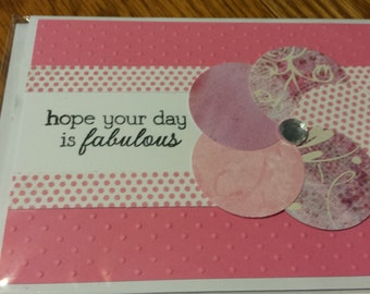 Fabulous Day Birthday Card