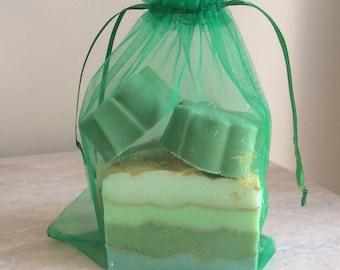 St. patricks Day gift soap
