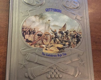 Time/Life Series The Civil War; Gettysburg:The Confederate High Tide