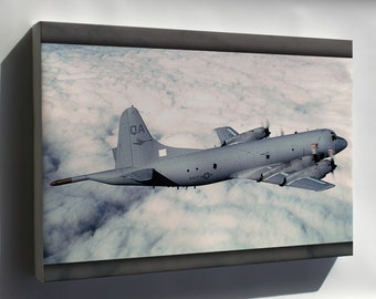 Canvas 24x36; P-3 Orion