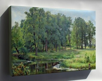 Canvas 24x36; In The Park By Ivan Shishkin