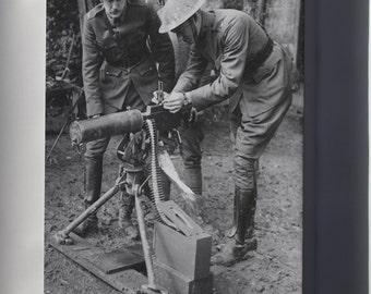 Canvas 16x24; M1917 Browning Machine Gun Is A Heavy Machine Gun Val Browning