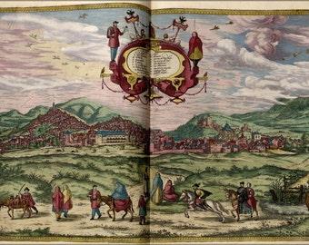 16x24 Poster; Map Of Granada 1563