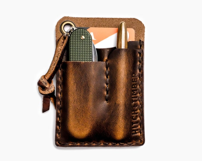 Card Caddy ~ Brown Nut Dublin