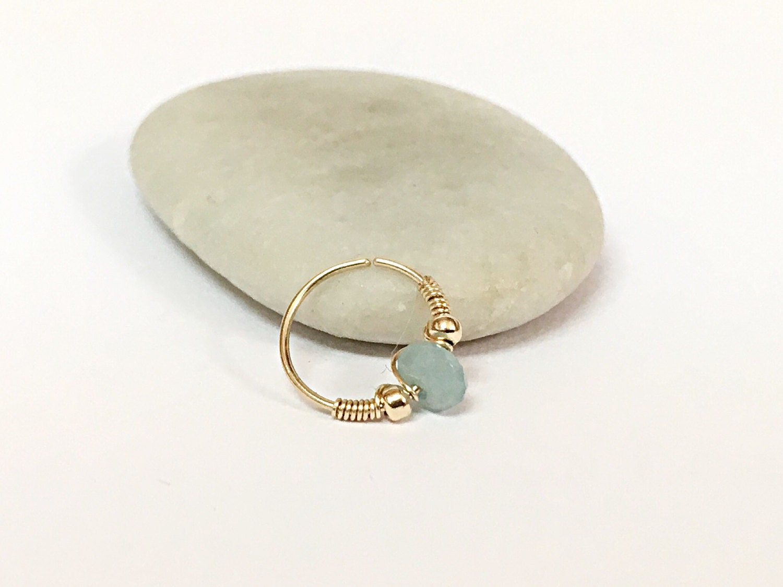 septum nose ring septum jewelry septum ring by flowerrainbownj