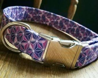 Purple Geometric Collar