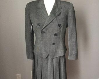 Vintage 90's Christian Dior Suit