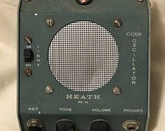 Vintage Heathkit HD-16 Morse Code Practice Oscillator