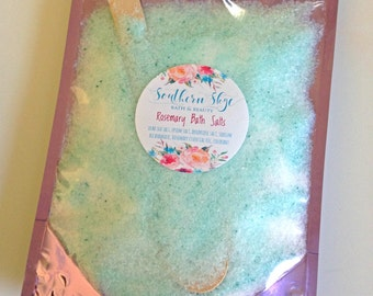 Essential Oil Bath Salts- Dead Sea Salt- Essential Oil- All Natural- Spa Gift
