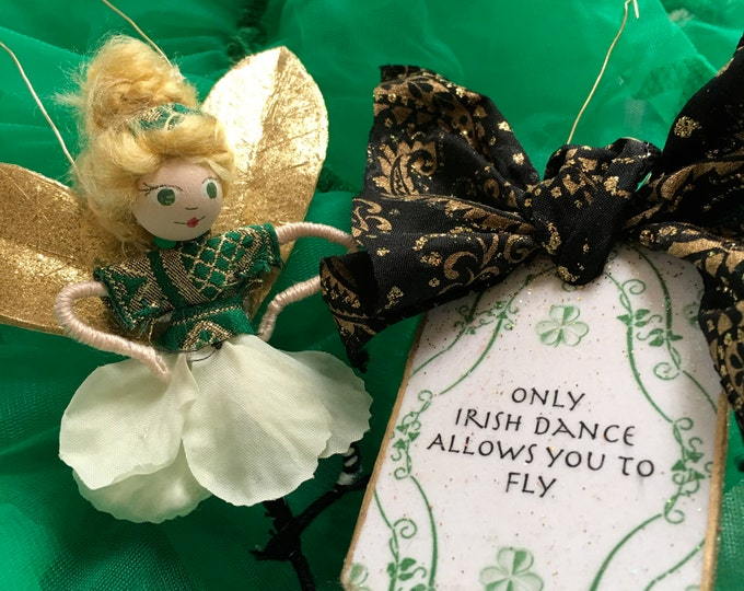 St. Patrick's Day Fairy With Tag