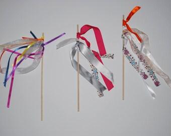 Princess Wands, Fairy Wands, Wands, Children's Wands, Costume Wands, Play Wands, Party favor, Party wands, Wedding Favor,Free Us Shipping!