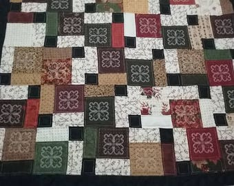 Disappearing Nine Patch Quilt