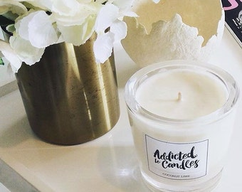 Salted Caramel  Large Soy Candle