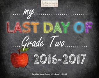 School (C) - My Last Day of Grade 2