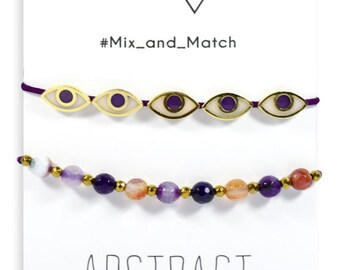 Abstract mix and match
