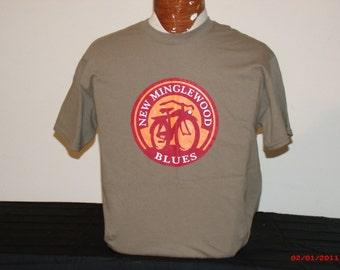 Mens Grateful Dead shirt. Grateful Dead Shirt. New Minglewood Blues/New Belgium Brewing mesh up.