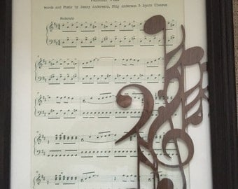 Music with notes