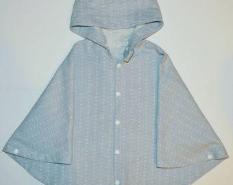 Kid  Poncho, baby poncho,linen clothes