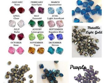 6mm Bead Add-On, Birthstone Charm