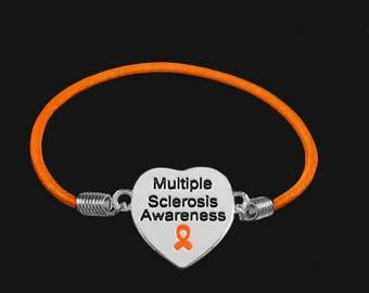 Multiple Sclerosis Awareness Stretch Bracelets