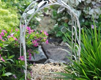 Metal Ivy Arbor for Miniature Garden, Fairy Garden