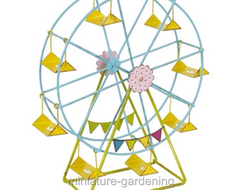 Ferris Wheel for Miniature Garden, Fairy Garden