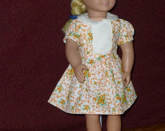 """18"""" Doll Dress: 1940's Style #2 (3 Options)"""