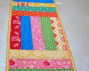 Spring Sale!  Spring Quilted Table Runner