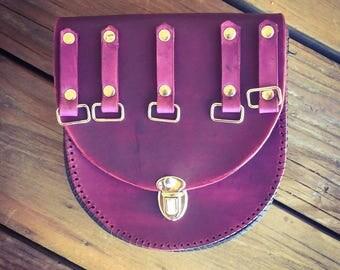 Purple Pouch Loop - Purse & Pouch