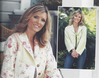 Favorite Things The Frayed  Jacket pattern V025 - OOP sizes 4-22